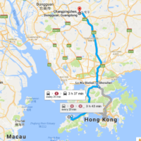How to go from Hongkong Airport to Donguan Changping directly?