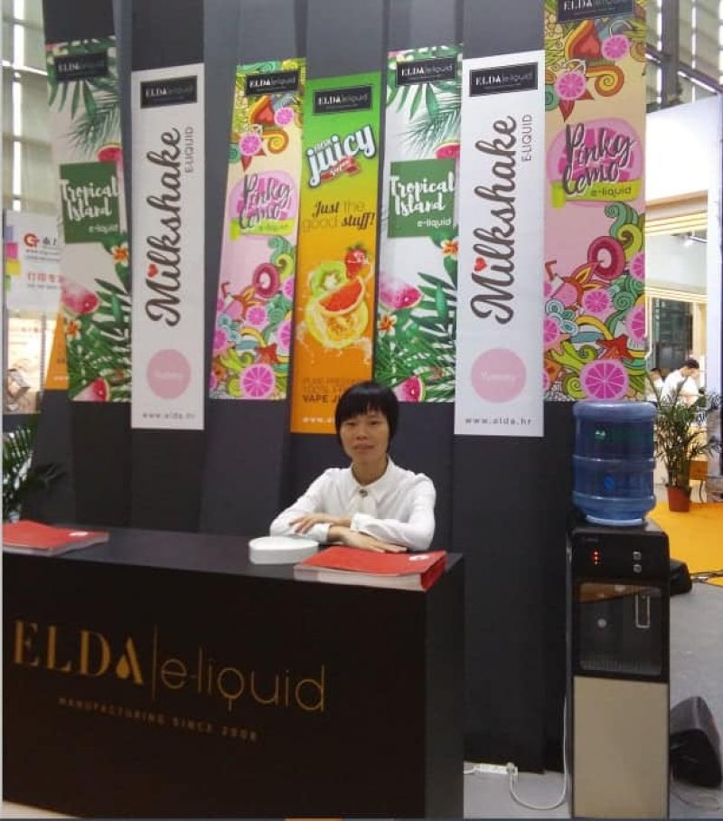 IECIE Shenzhen eCig Expo Booth Interpreter